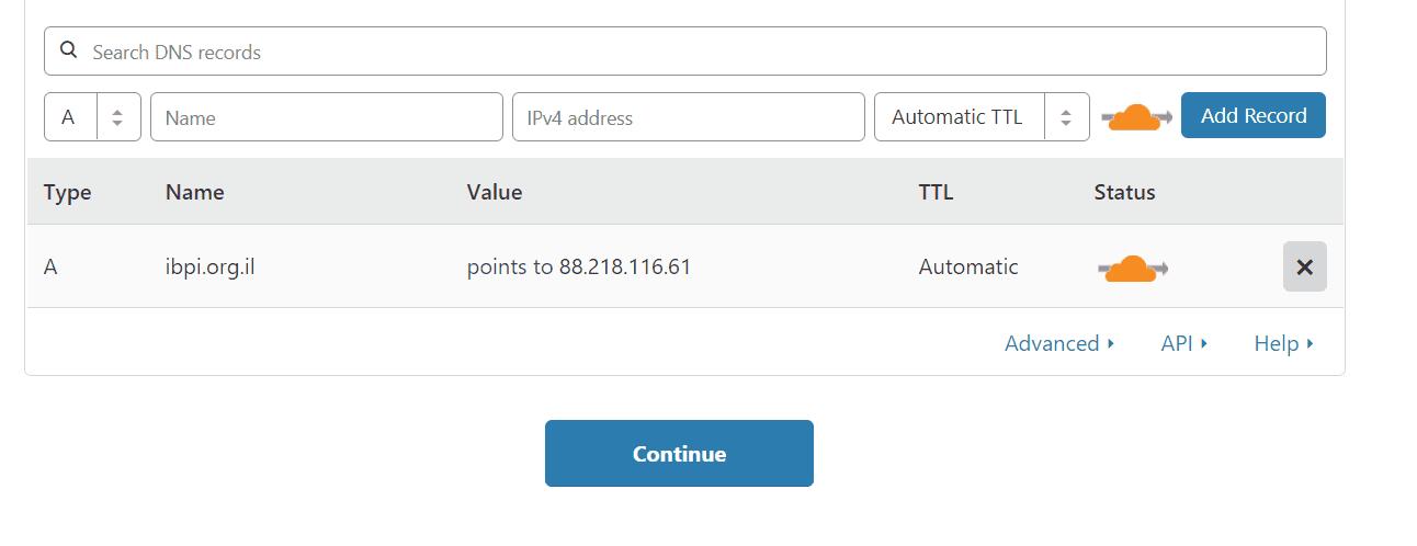 רשומות DNS