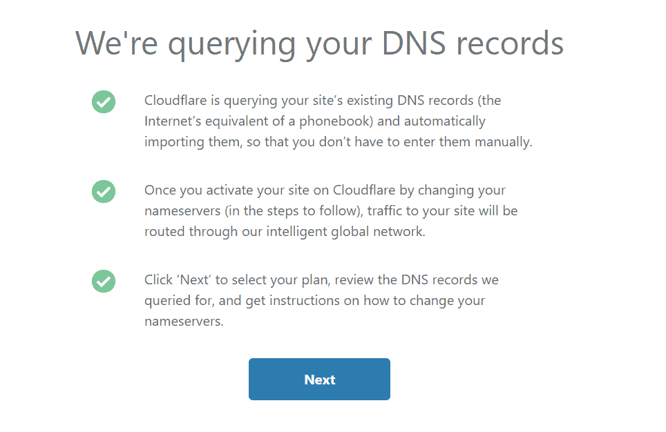 querying DNS records