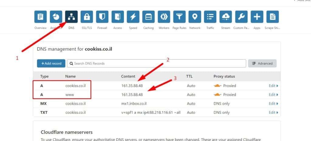 שינוי IP בקלאודפלייר