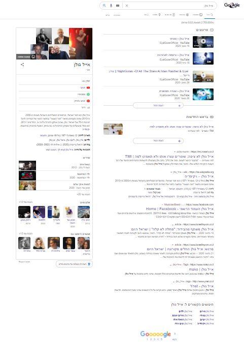 אייל גולן - ניהול מוניטין על ידי יחסי ציבור